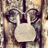 Μια κλειδαριά δύο ψυχές Στοκ φωτογραφία με δικαίωμα ελεύθερης χρήσης