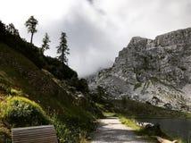 Μια λίμνη στις Άλπεις της Αυστρίας στοκ φωτογραφίες με δικαίωμα ελεύθερης χρήσης