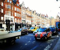 Μια λεωφόρος του Λονδίνου Στοκ εικόνα με δικαίωμα ελεύθερης χρήσης