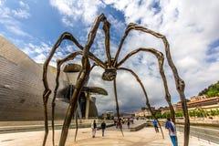 Μια μεγάλη αράχνη μετάλλων Στοκ Εικόνες