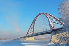 Μια μεγάλη γέφυρα αψίδων Στοκ Φωτογραφίες