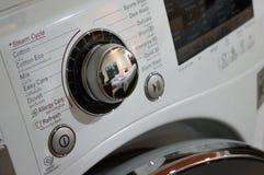 Μια μηχανή πλυντηρίων στοκ φωτογραφία με δικαίωμα ελεύθερης χρήσης
