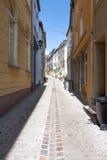 Μια μικρή οδός σε Remich Στοκ εικόνες με δικαίωμα ελεύθερης χρήσης