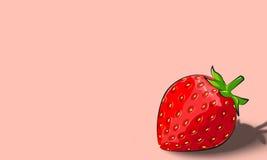 Μια μικρή φράουλα Στοκ Εικόνα