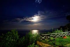 Μια μυθική νύχτα Στοκ Εικόνες
