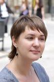 Μια νέα γυναίκα Στοκ Εικόνες