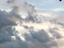 Μια νεφελώδης ημέρα στη βόρεια Καρολίνα στοκ εικόνα με δικαίωμα ελεύθερης χρήσης