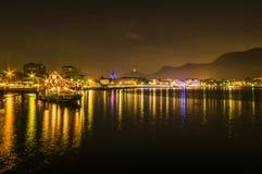 Μια νύχτα σε Como Στοκ εικόνες με δικαίωμα ελεύθερης χρήσης