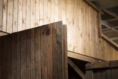 Μια ξύλινη πόρτα Στοκ Εικόνες