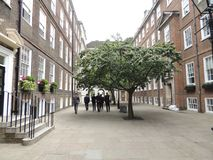 Μια οδός στην πόλη του Λονδίνου στοκ φωτογραφίες