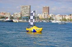 Μια ολλανδική Clog πλέοντας βάρκα Στοκ Εικόνα