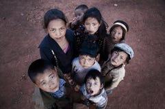 Μια ομάδα παιδιών Στοκ φωτογραφία με δικαίωμα ελεύθερης χρήσης