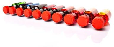 Μια ομάδα πρόσθετων ουσιών Β χρώματος τροφίμων Στοκ φωτογραφίες με δικαίωμα ελεύθερης χρήσης