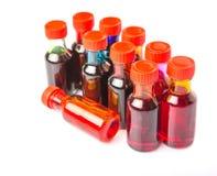 Μια ομάδα πρόσθετων ουσιών VI χρώματος τροφίμων Στοκ εικόνες με δικαίωμα ελεύθερης χρήσης