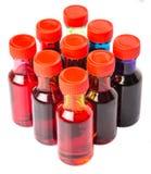 Μια ομάδα πρόσθετων ουσιών VIII χρώματος τροφίμων Στοκ εικόνα με δικαίωμα ελεύθερης χρήσης