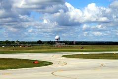 Μια λουρίδα αέρα σε έναν αερολιμένα στοκ φωτογραφίες με δικαίωμα ελεύθερης χρήσης