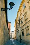 Μια οδός στην Κρακοβία Στοκ φωτογραφία με δικαίωμα ελεύθερης χρήσης
