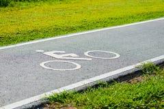 Μια πάροδος ποδηλάτων για τον ποδηλάτη Στοκ φωτογραφία με δικαίωμα ελεύθερης χρήσης