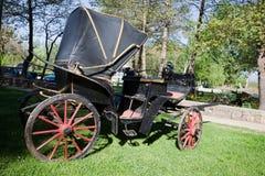 Μια παλαιά horse-drawn μεταφορά Στοκ φωτογραφία με δικαίωμα ελεύθερης χρήσης