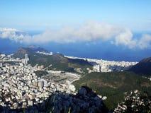 Μια πανοραμική άποψη του Ρίο ντε Τζανέιρο, Βραζιλία στοκ φωτογραφία με δικαίωμα ελεύθερης χρήσης