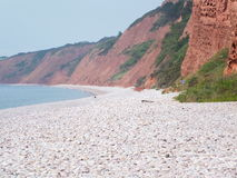 Μια παραλία του Devon Στοκ φωτογραφία με δικαίωμα ελεύθερης χρήσης