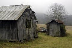 Μια παλαιά αγροτική σιταποθήκη Στοκ εικόνες με δικαίωμα ελεύθερης χρήσης