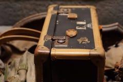 Μια παλαιά βαλίτσα Στοκ εικόνα με δικαίωμα ελεύθερης χρήσης