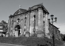 Μια παλαιά εκκλησία από την ισπανική εποχή Στοκ Φωτογραφίες