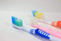 Μια παλαιά οδοντόβουρτσα Στοκ εικόνα με δικαίωμα ελεύθερης χρήσης