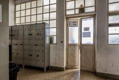 Μια παλαιά τάξη σε ένα ιταλικό σχολείο Στοκ εικόνα με δικαίωμα ελεύθερης χρήσης