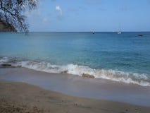Μια παλιή παραλία στις Καραϊβικές Θάλασσες απόθεμα βίντεο