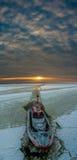 Μια πειραματική βάρκα Στοκ εικόνες με δικαίωμα ελεύθερης χρήσης