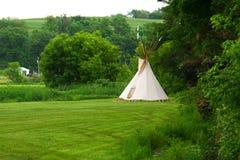 Μια περούκα wam ύφους αμερικανών ιθαγενών Στοκ φωτογραφίες με δικαίωμα ελεύθερης χρήσης