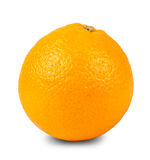 Μια πορτοκαλιά κινηματογράφηση σε πρώτο πλάνο Στοκ φωτογραφία με δικαίωμα ελεύθερης χρήσης