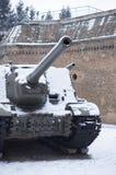 Πολεμική δεξαμενή Στοκ Εικόνα