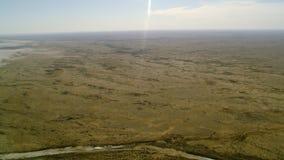 Μια πράσινη θέση ερήμων απόθεμα βίντεο