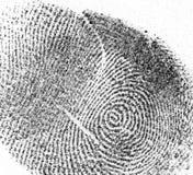 Μια ραδιουργία fimgerprint στοκ φωτογραφία