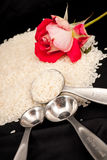 Μια ρομαντική κουζίνα στοκ φωτογραφία