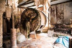 Μια ρόδα φλοιών στο παλαιό Fez στοκ εικόνες με δικαίωμα ελεύθερης χρήσης
