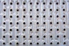 Μια σειρά τρύπας Στοκ φωτογραφία με δικαίωμα ελεύθερης χρήσης