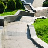 Μια σκάλα πετρών Στοκ φωτογραφίες με δικαίωμα ελεύθερης χρήσης