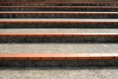Μια σκάλα του τσιμέντου, υπαίθρια στοκ φωτογραφία με δικαίωμα ελεύθερης χρήσης