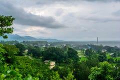 Μια σκηνή μιας αγροτικής περιοχής στοκ φωτογραφία με δικαίωμα ελεύθερης χρήσης