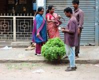 Μια σκηνή οδών στην Ινδία Στοκ φωτογραφία με δικαίωμα ελεύθερης χρήσης