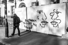 Μια σκηνή οδών στο Λονδίνο Στοκ φωτογραφίες με δικαίωμα ελεύθερης χρήσης