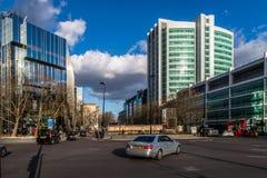 Μια σκηνή οδών στο Λονδίνο Στοκ Φωτογραφία
