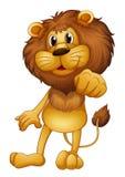 Μια στάση λιονταριών διανυσματική απεικόνιση