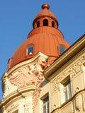 Μια στέγη θόλων και stuccowork Στοκ εικόνα με δικαίωμα ελεύθερης χρήσης