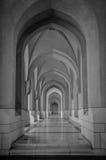 Μια συμπαθητική γεωμετρική μορφή στο όμορφο Ομάν, νότιο μέρος των αραβικών εμιράτων Στοκ Φωτογραφίες
