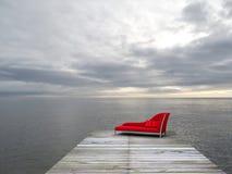 Μια συμπαθητική θέση που χαλαρώνει Στοκ Εικόνες